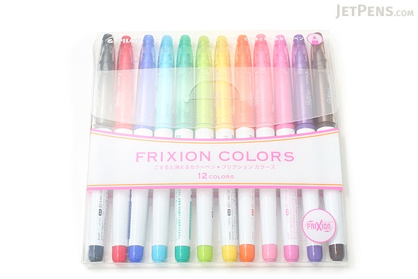 Pilot Frixion Colors Erasable Marker 12 Color Set