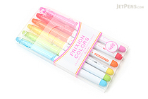 Pilot FriXion Colors Erasable Marker - 6 Color Set - PILOT SFC-60M-6C