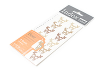 Midori Index Label Sticker - Deer - 2 Sheets - MIDORI 83014-006