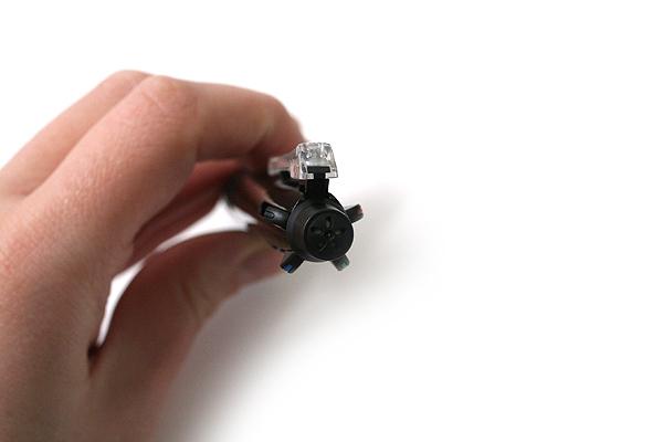 Uni Multi 5 4 Color 0.7 mm Ballpoint Multi Pen + 0.5 mm Pencil - Black Body - UNI MSE5500.24
