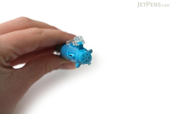 Uni Multi 5 4 Color 0.7 mm Ballpoint Multi Pen + 0.5 mm Pencil - Capri Blue Body - UNI MSE5500.39