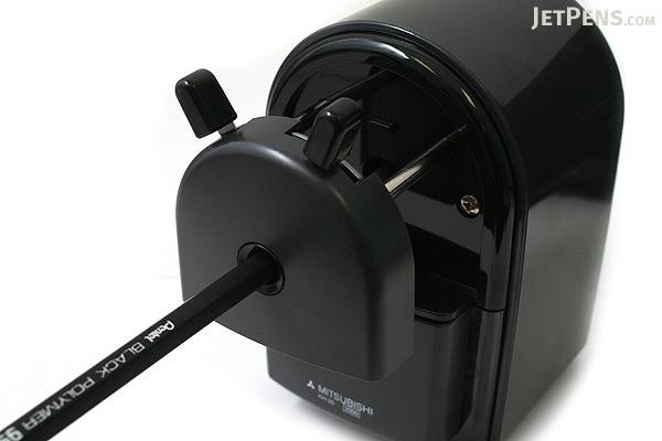 Uni KH-20 Hand Crank Pencil Sharpener - Black - UNI KH20.24