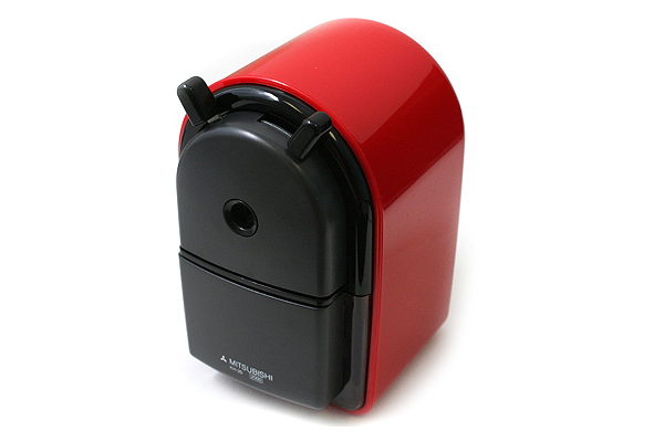 Uni KH-20 Hand Crank Pencil Sharpener - Red - UNI KH20.15