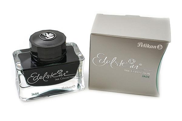 Pelikan Edelstein Fountain Pen Ink Collection - 50 ml Bottle - Jade (Light Green) - PELIKAN 339374