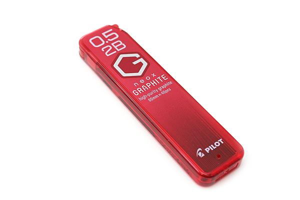 Pilot Neox High-Purity Graphite Pencil Lead - 0.5 mm - 2B - PILOT HRF5G-20-2B