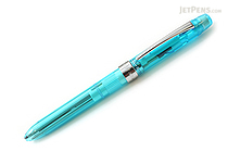 Platinum MWB-500RS Transparent Body 2 Color 0.7 mm Ballpoint Multi Pen + 0.5 mm Pencil - Aqua Blue Body - PLATINUM MWB-500RS 59