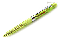 Platinum MWB-500RS Transparent Body 2 Color 0.7 mm Ballpoint Multi Pen + 0.5 mm Pencil - Fresh Leaf Green Body - PLATINUM MWB-500RS 42