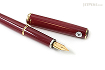 Platinum Standard Fountain Pen - Fine Nib - Red Body - PLATINUM PTL-3000 70-F