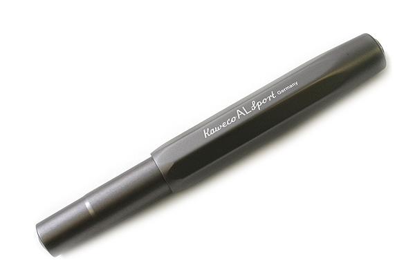 Kaweco AL Sport Fountain Pen - Medium Nib - Gray Body - KAWECO 10000092