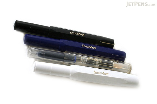 Kaweco Classic Sport Fountain Pen - Black - Broad Nib - KAWECO 10000013