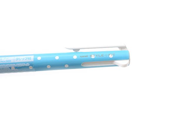 Uni Style Fit 3 Color Multi Pen Body Component - Dot Blue - UNI UE3H208D.33