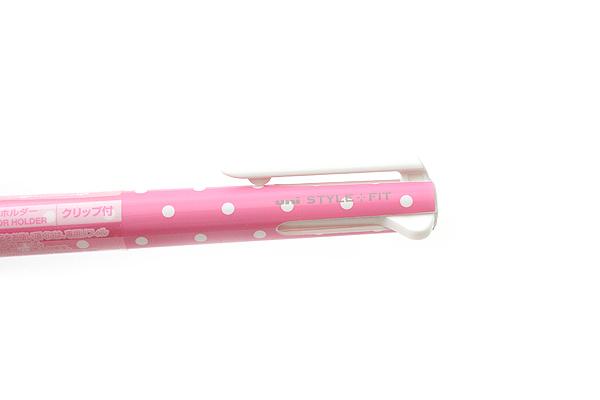 Uni Style Fit 3 Color Multi Pen Body Component - Dot Pink - UNI UE3H208D.13