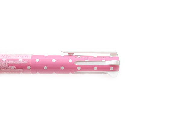 Uni Style Fit 5 Color Multi Pen Body Component - Dot Pink - UNI UE5H258D.13