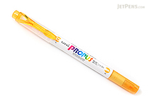 Uni Propus Window Soft Color Double-Sided Highlighter - 4.0 mm / 0.6 mm - Golden Yellow - UNI PUS102T.3