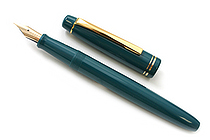 Pilot FP-78G Fountain Pen - 22K Gold-Plated Fine Nib - Blue - PILOT FP-78G-F-L