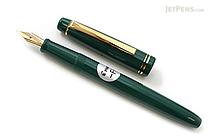 Pilot FP-78G Fountain Pen - 22K Gold-Plated Fine Nib - Green - PILOT FP-78G-F-G