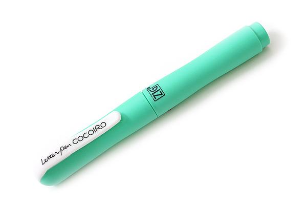 Kuretake Zig Letter Pen CocoIro Pen Body - Green Apple - KURETAKE LPC-12S