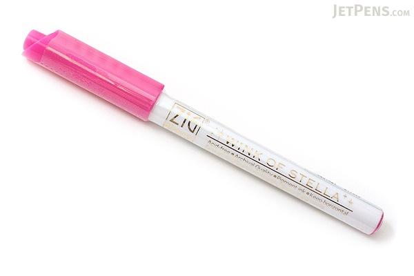 Kuretake Zig Wink of Stella Glitter Marker - 0.8 mm - Dark Pink - KURETAKE MS-40-027