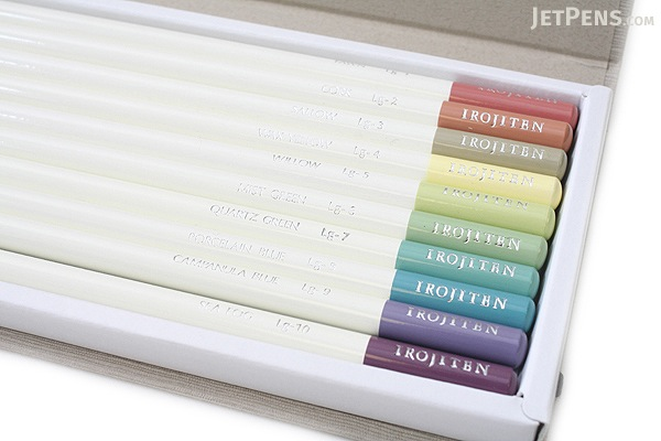 Tombow Irojiten Color Dictionary Color Pencil Set - 30 Color Set (Tones: Pale II + Deep II & Light Grayish I) - TOMBOW CI-RTB