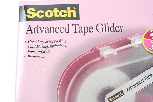 3M Advanced Tape Glider Gun - Acid Free - 1/4 in X 108 ft - 2 Rolls - 3M 085