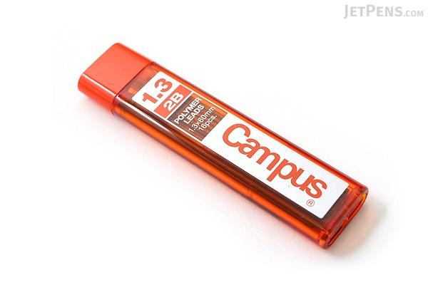 Kokuyo Campus Pencil Lead - 1.3 mm - 2B - KOKUYO PSR-C2B13