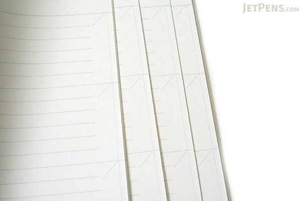 Kokuyo Edge Title Twin Ring Notebook - A5 - White - KOKUYO SU-TJ105A