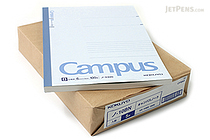 "Kokuyo Campus Notebook - Semi B5 (7"" X 9.8"") - Normal Rule - 35 Lines X 100 Sheets - Bundle of 5 - KOKUYO NO-10B BUNDLE"