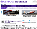 Huffington Post article screenshot