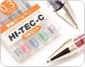 Pilot Hi-Tec-C 0.3 mm Gel Ink Pens