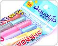 Sakura Aqualip Gel Ink Pens - 5 Color Set