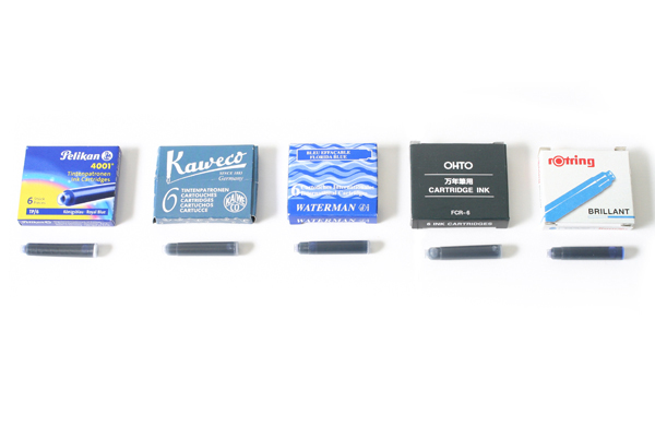 International Short Size Ink Cartridges for Fountain Pens ...