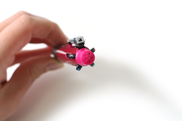 Uni Jetstream 4&1 4 Color 0.5 mm Ballpoint Multi Pen + 0.5 mm Pencil - Pink Body - UNI MSXE510005.13