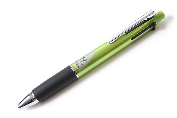 Uni Jetstream 4&1 4 Color 0.7 mm Ballpoint Multi Pen + 0.5 mm Pencil - Green Body - UNI MSXE510007.6