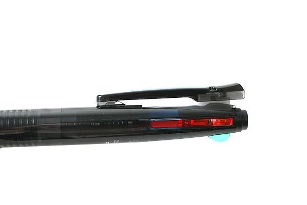 Zebra Surari 4C 4 Color Emulsion Ink Multi Pen - 0.7 mm - Black Body - ZEBRA B4A11-BK