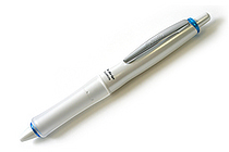 Pilot Dr. Grip Pure White Ballpoint Pen - 0.7 mm - Soft Blue Accent Body - PILOT BDGPW-80F-SL