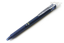 Pilot FriXion Ball Knock Retractable Gel Pen - 0.5 mm - Blue Black - PILOT LFBK-23EF-BB
