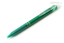 Pilot FriXion Ball Knock Retractable Gel Pen - 0.5 mm - Green - PILOT LFBK-23EF-G