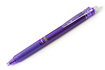 Pilot FriXion Ball Knock Retractable Gel Pen - 0.5 mm - Violet - PILOT LFBK-23EF-V
