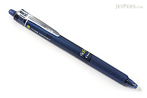 Pilot FriXion Ball Knock Retractable Gel Pen - 0.7 mm - Blue Black - PILOT LFBK-23F-BB