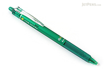 Pilot FriXion Ball Knock Retractable Gel Pen - 0.7 mm - Green - PILOT LFBK-23F-G