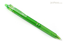 Pilot FriXion Ball Knock Retractable Gel Pen - 0.7 mm - Light Green - PILOT LFBK-23F-LG