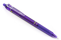 Pilot FriXion Ball Knock Retractable Gel Pen - 0.7 mm - Violet - PILOT LFBK-23F-V