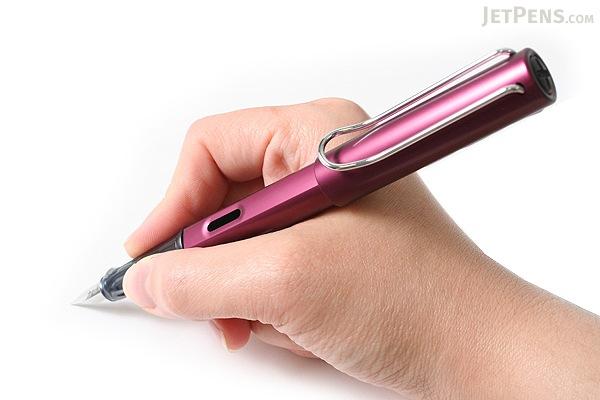 Lamy Al-Star Fountain Pen - Purple - Fine Nib - LAMY L29F
