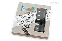 Kaweco Calligraphy Pen Set - Black - 4 Nib Sizes - KAWECO 10000229