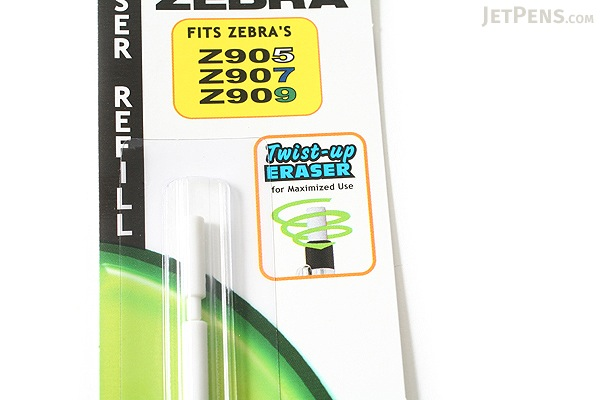 Zebra 900 Series Mechanical Pencil Eraser Refill - Pack of 4 - ZEBRA 84511