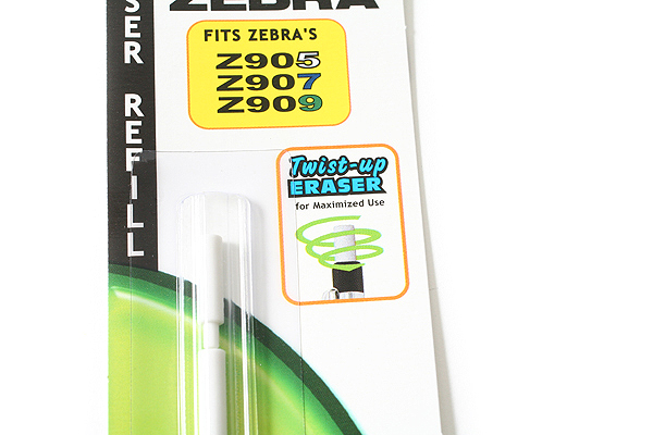 Zebra 900 Series Mechanical Pencil Eraser Refill - Pack of 4 - ZEBRA 84511