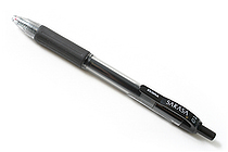 Zebra Sarasa Retractable Gel Pen - 1.0 mm - Black - ZEBRA 46610