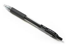Zebra Sarasa Retractable Gel Pen - 1.0 mm - Black - ZEBRA 46610
