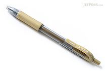 Zebra Sarasa Retractable Gel Pen - Metallic Colors - 1.0 mm - Gold - ZEBRA 46640