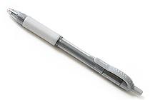 Zebra Sarasa Retractable Gel Pen - Metallic Colors - 1.0 mm - Silver - ZEBRA 46650